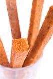 Brood, toost, gebraden brood. Royalty-vrije Stock Afbeeldingen