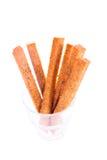Brood, toost, gebraden brood. Stock Foto's