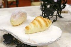 Brood twee Royalty-vrije Stock Afbeeldingen