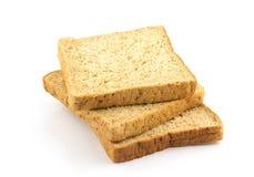 Brood van de plak het gehele tarwe Stock Foto