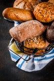 Brood van de verscheidenheids het eigengemaakte korrel Royalty-vrije Stock Fotografie