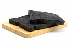 Brood van houtskoolbrood Stock Fotografie