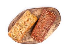 Brood van knapperig brood Royalty-vrije Stock Afbeeldingen