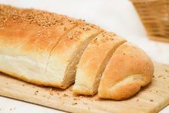 Brood van naar huis gemaakt brood Stock Afbeeldingen
