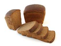 Brood van roggebrood en gesneden Stock Fotografie