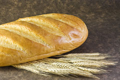 Brood van wit brood royalty-vrije stock foto's