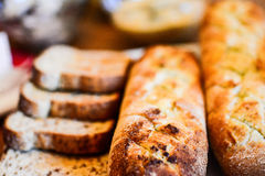 Brood in verschillend Stock Afbeeldingen