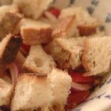 Brood voor panzanella royalty-vrije stock fotografie