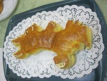 Broodbrood van de oorspronkelijke vorm Royalty-vrije Stock Afbeeldingen