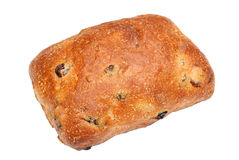 Broodbroodje met rozijnen en bessen Royalty-vrije Stock Afbeeldingen