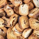 Broodcrumbs als achtergrond royalty-vrije stock afbeelding