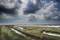 Brooding Suffolk Landscape Royalty Free Stock Images