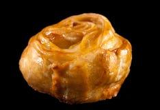 Broodje met appel het vullen Royalty-vrije Stock Foto