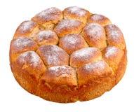 Broodje met chocolade Royalty-vrije Stock Foto