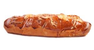 Broodje met geïsoleerdeo kaas Royalty-vrije Stock Afbeeldingen