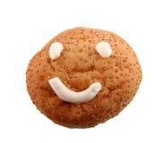 Broodje met glimlach Stock Afbeeldingen