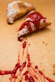 Broodje met jam Royalty-vrije Stock Foto's