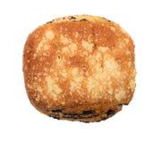 Broodje met papaverzaden Stock Fotografie