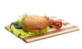 Broodje met sesam Stock Afbeeldingen
