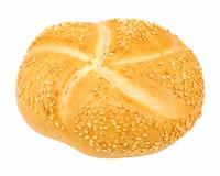 Broodje met sesam Royalty-vrije Stock Afbeeldingen