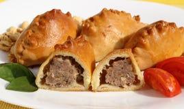 Broodje met vlees Royalty-vrije Stock Afbeelding