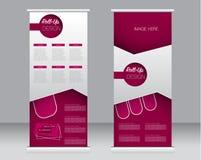 Broodje op het malplaatje van de bannertribune Abstracte achtergrond voor ontwerp, Royalty-vrije Stock Afbeelding