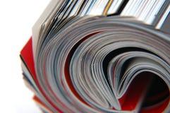 Broodje van de Close-up van het Tijdschrift stock fotografie