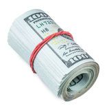 Broodje van dollars Royalty-vrije Stock Afbeelding