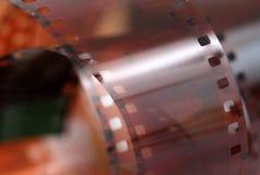 broodje van een uitstekende 35mm kleuren negatieve film Royalty-vrije Stock Afbeeldingen
