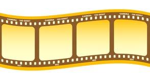 Broodje van film stock illustratie