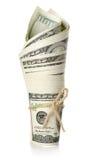 Broodje van geld   Royalty-vrije Stock Foto