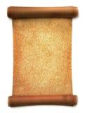 Broodje van perkament Stock Afbeeldingen