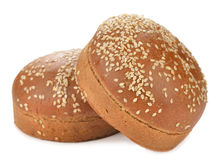 Broodje voor hamburger Royalty-vrije Stock Afbeelding