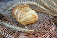 Broodje voor ontbijt Stock Fotografie