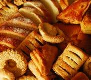 Broodjes en koekjes stock afbeelding