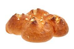 Broodjes met knoflook royalty-vrije stock foto