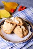 Broodjes met kwark Stock Afbeeldingen