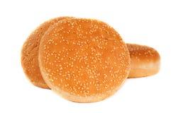 Broodjes met sesamzaden Royalty-vrije Stock Foto's