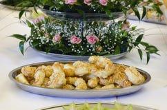 Broodjes of stokken Stock Foto's