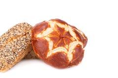 Broodjes van brood Stock Afbeelding
