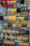 Broodjes van decoratieve kettingen stock afbeelding