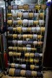 Broodjes van decoratieve kettingen royalty-vrije stock foto