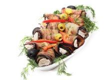 Broodjes van een aubergine Royalty-vrije Stock Fotografie