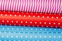 Broodjes van gekleurd document Stock Foto
