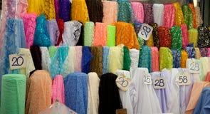 Broodjes van multicoloured textiel Stock Afbeeldingen