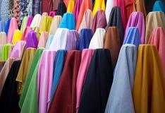 Broodjes van multicoloured textiel Royalty-vrije Stock Afbeelding