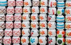Broodjes van nieuwe ceramische koppen Royalty-vrije Stock Afbeeldingen