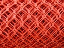 Broodjes van plastic omheiningsnetwerk Stock Afbeeldingen