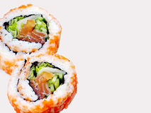 Broodjes van Sushi Royalty-vrije Stock Afbeeldingen