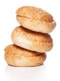 Broodjes voor hamburger Stock Fotografie